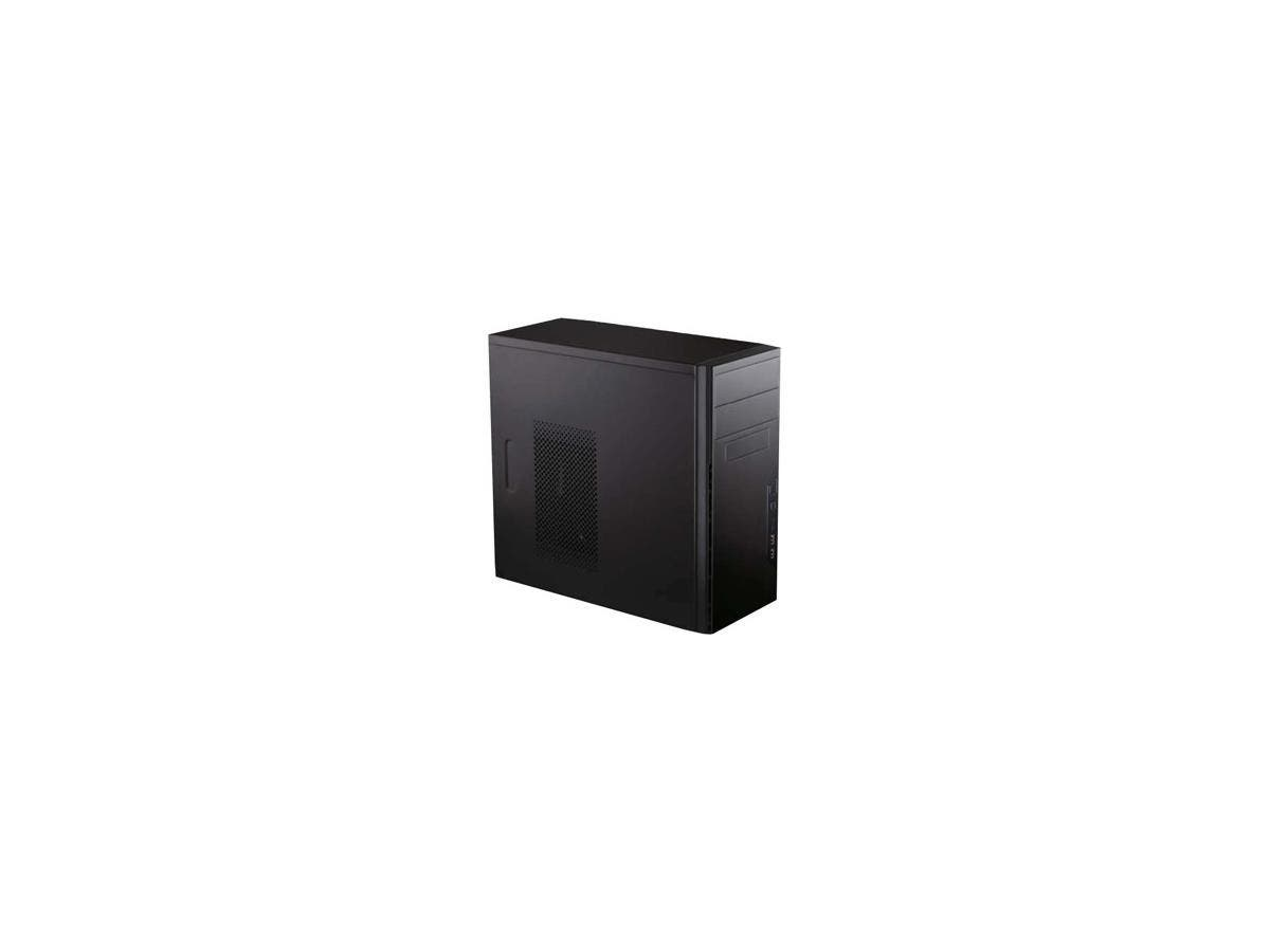 "Antec System Cabinet - Mini-tower - Black - Steel - 5 x Bay - 1 x Fan(s) Installed - Micro ATX, Mini ITX Motherboard Supported - 9.04 lb - 2 x Fan(s) Supported - 2 x External 5.25"" Bay"