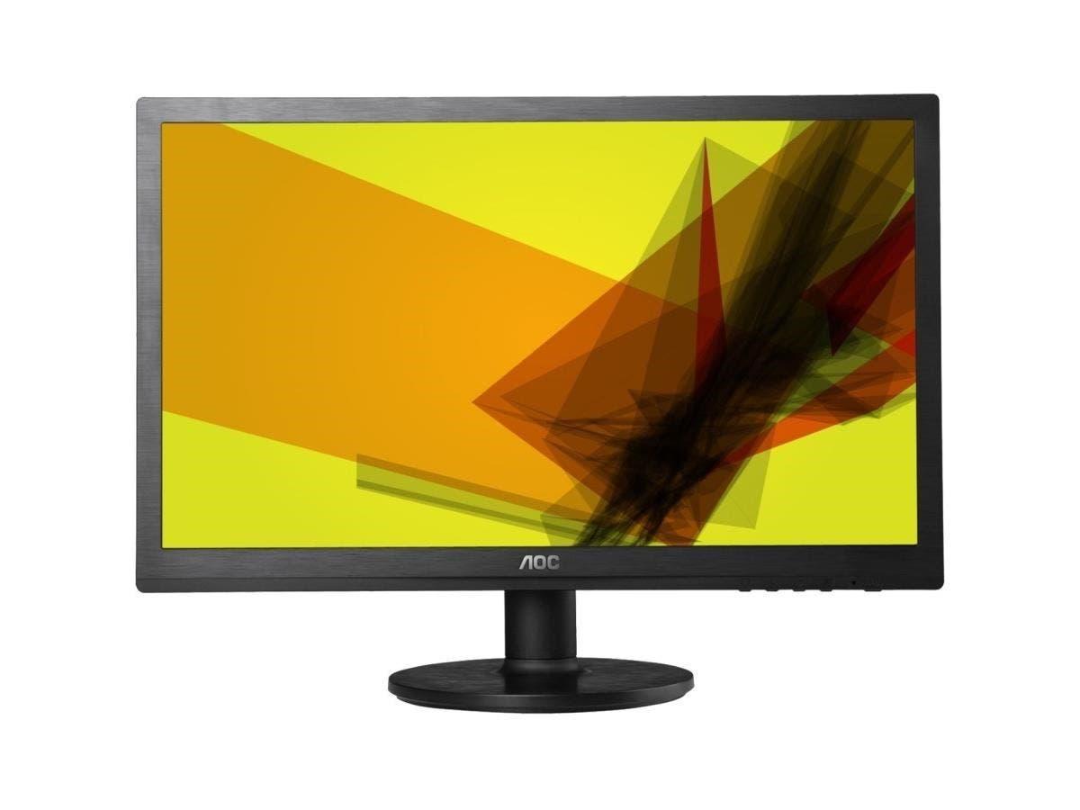 "AOC e2260Swda 21.5"" LED LCD Monitor - 16:9 - 5ms - Adjustable Display Angle - 1920 x 1080 - 16.7 Million Colors - 250 Nit - 20,000,000:1 - Full HD - Speakers - DVI - VGA - Black - ENERGY STAR"