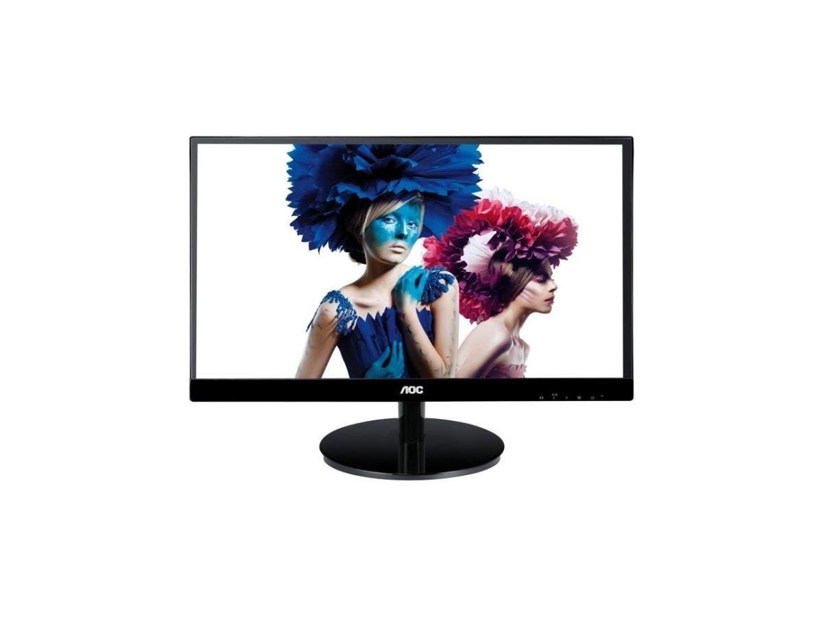 "AOC i2769Vm 27"" IPS LCD Monitor - 16:9 - 5ms - Adjustable Display Angle - 1920 x 1080 - 16.7 Million Colors - 250 Nit - 50,000,000:1 - Full HD - Speakers - HDMI - VGA - DisplayPort - 35 W - Black"