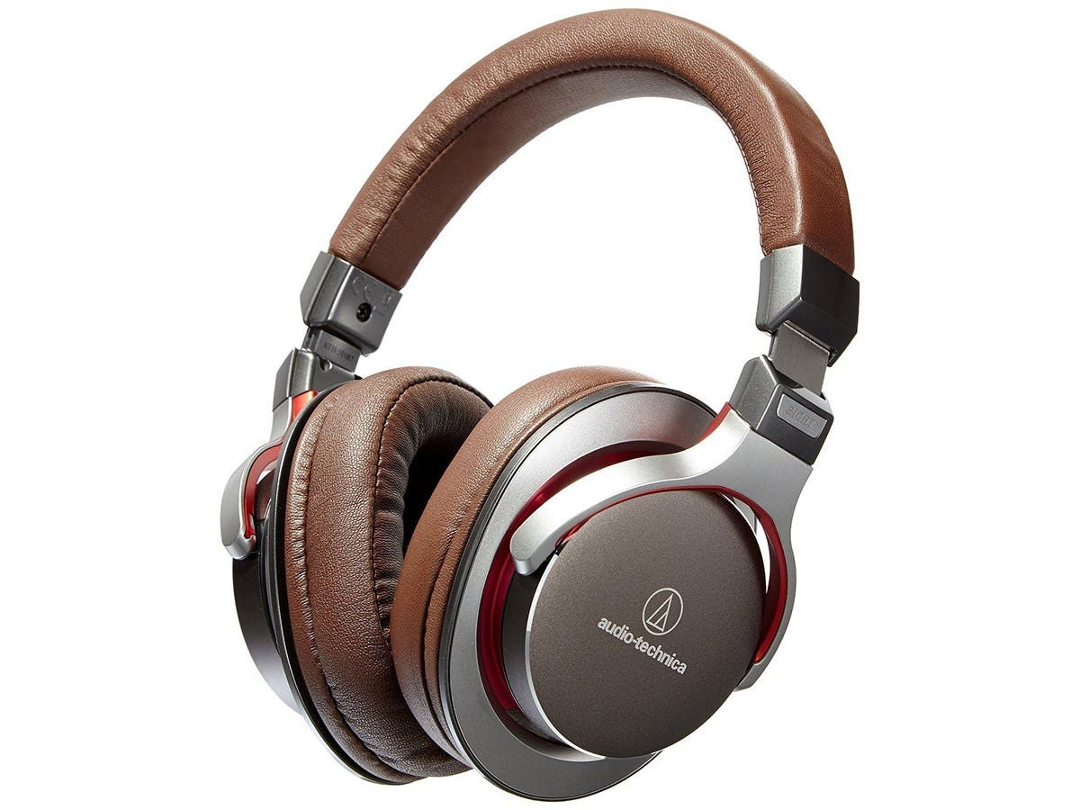 Audio-Technica ATH-MSR7GM SonicPro Over-Ear High-Resolution Audio Headphones - Gun Metal Gray -Large-Image-1