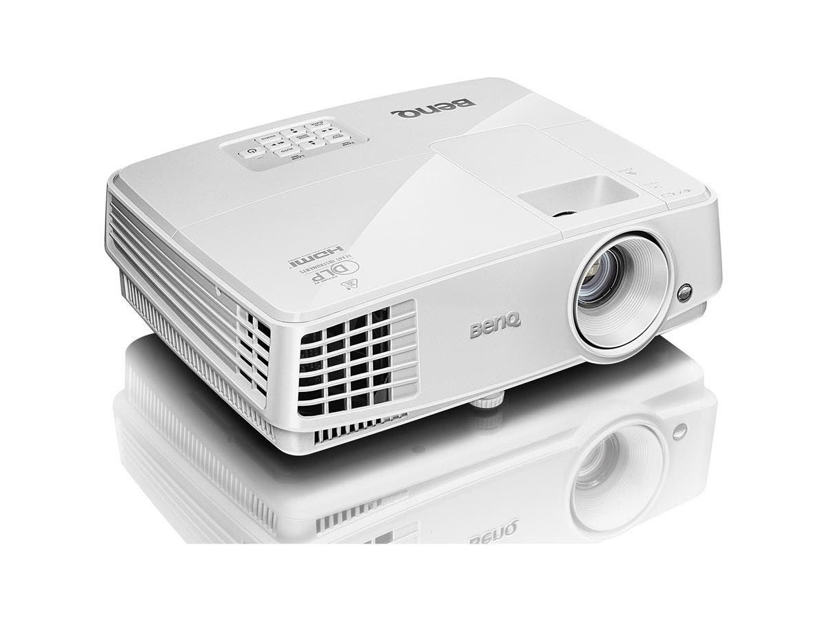 BenQ MX570 3D Ready DLP Projector - 720p - HDTV - 4:3 - Front, Ceiling - 190 W - PAL, NTSC, SECAM - 4500 Hour Normal Mode - 6000 Hour Economy Mode - 1024 x 768 - XGA - 13,000:1 - 3200 lm - HDMI - USB