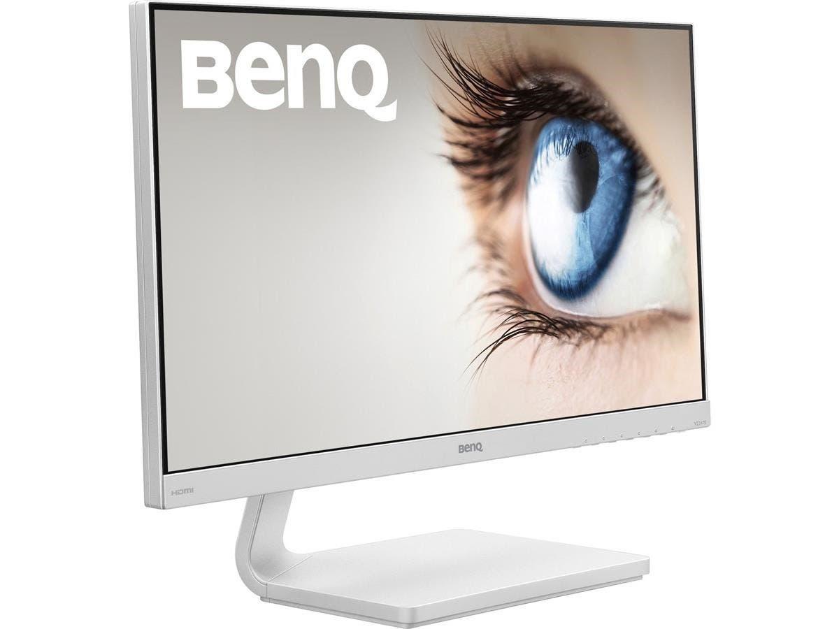 "BenQ VZ2470H 23.8"" LED LCD Monitor - 16:9 - 4 ms - 1920 x 1080 - 16.7 Million Colors - 250 Nit - 20,000,000:1 - Full HD - HDMI - VGA - 31.50 W - White - ENERGY STAR 6.0"