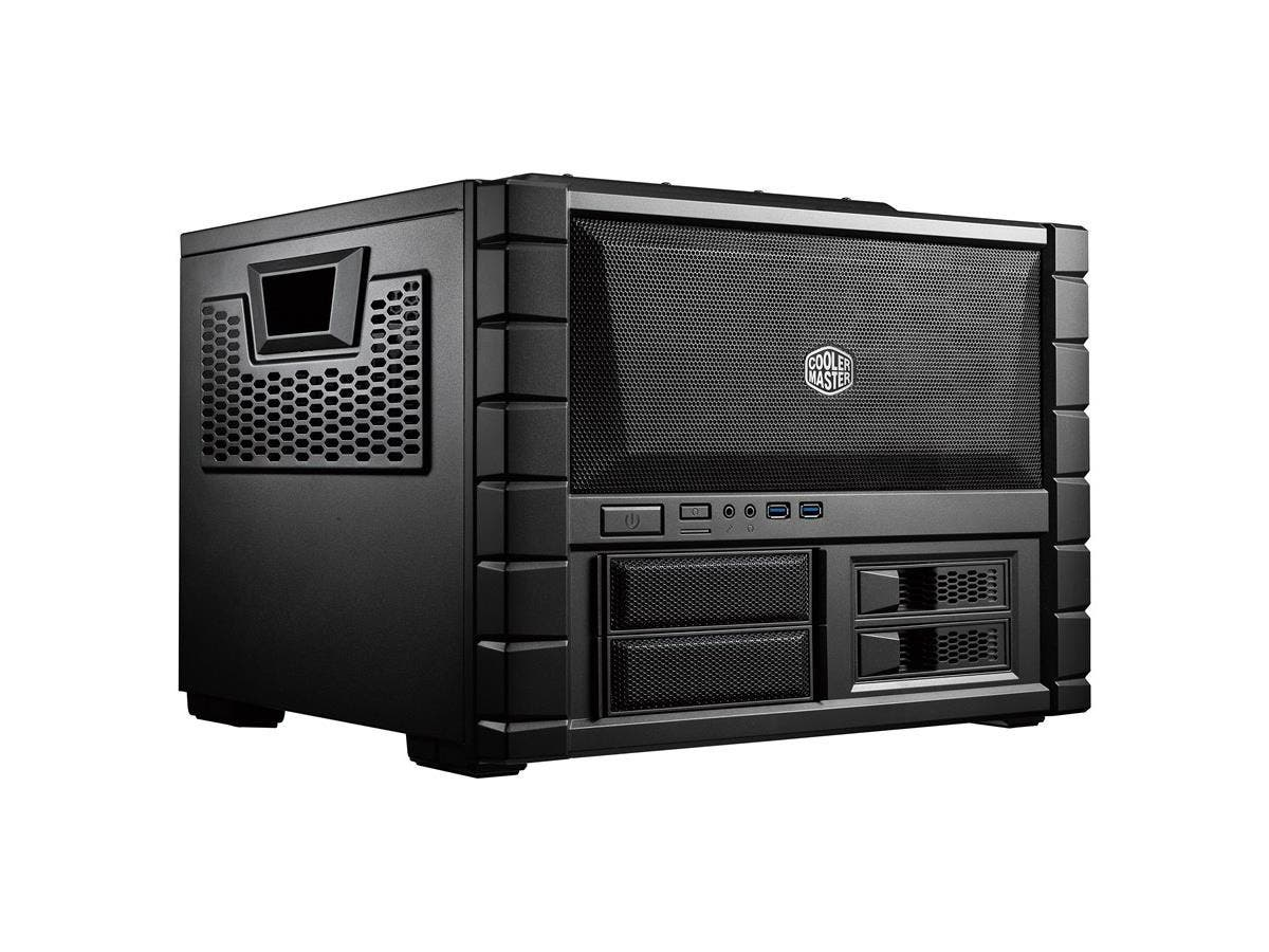 Cooler Master HAF XB EVO - High Air Flow Test Bench and LAN Box Mid Tower Computer Case with ATX Motherboard Support - Cooler Master HAF XB EVO-Large-Image-1