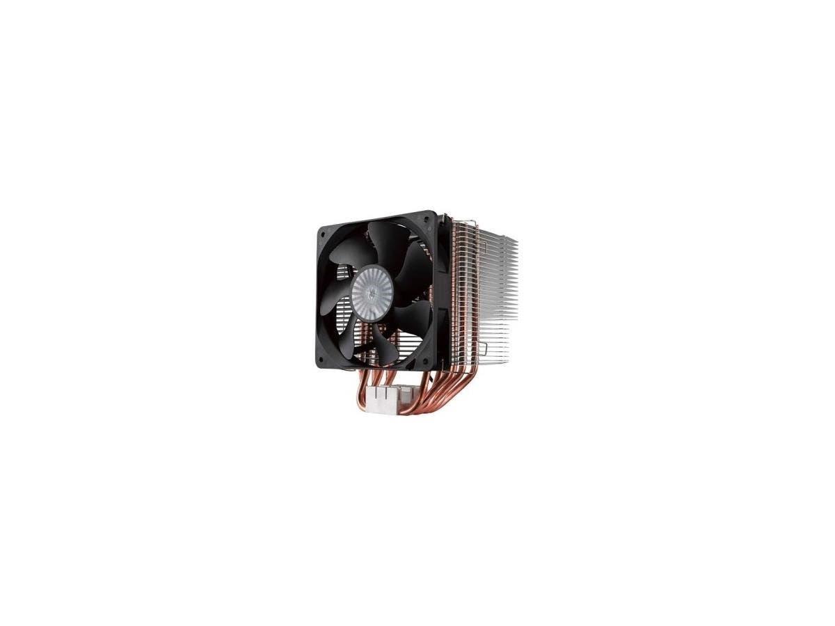 Cooler Master Hyper 612 Ver. 2 RR-H6V2-13PK-R1 Cooling Fan/Heatsink - 1 x 120 mm - 1300 rpm - Rifle Bearing - Socket T LGA-775, Socket H3 LGA-1150, Socket H2 LGA-1155, Socket H LGA-1156, Socket B LGA--Large-Image-1