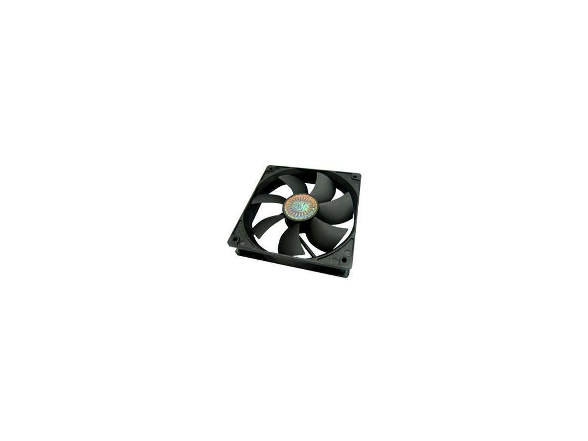 Cooler Master Sleeve Bearing 120mm Silent Fan for Computer Cases, CPU Coolers, and Radiators (Value 4-Pack) - Value 4-Pack, 120x120x25 mm, ~ 1200 RPM speed, ~ 44.7 CFM air flow, ~ 19 dBA noise level,