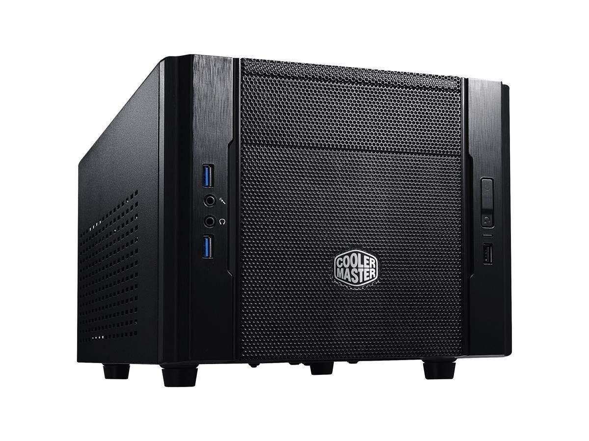 Cooler Master Elite 130 - Mini-ITX Computer Case with Mesh Front Panel and Water Cooling Support - Cooler Master Elite 130-Large-Image-1