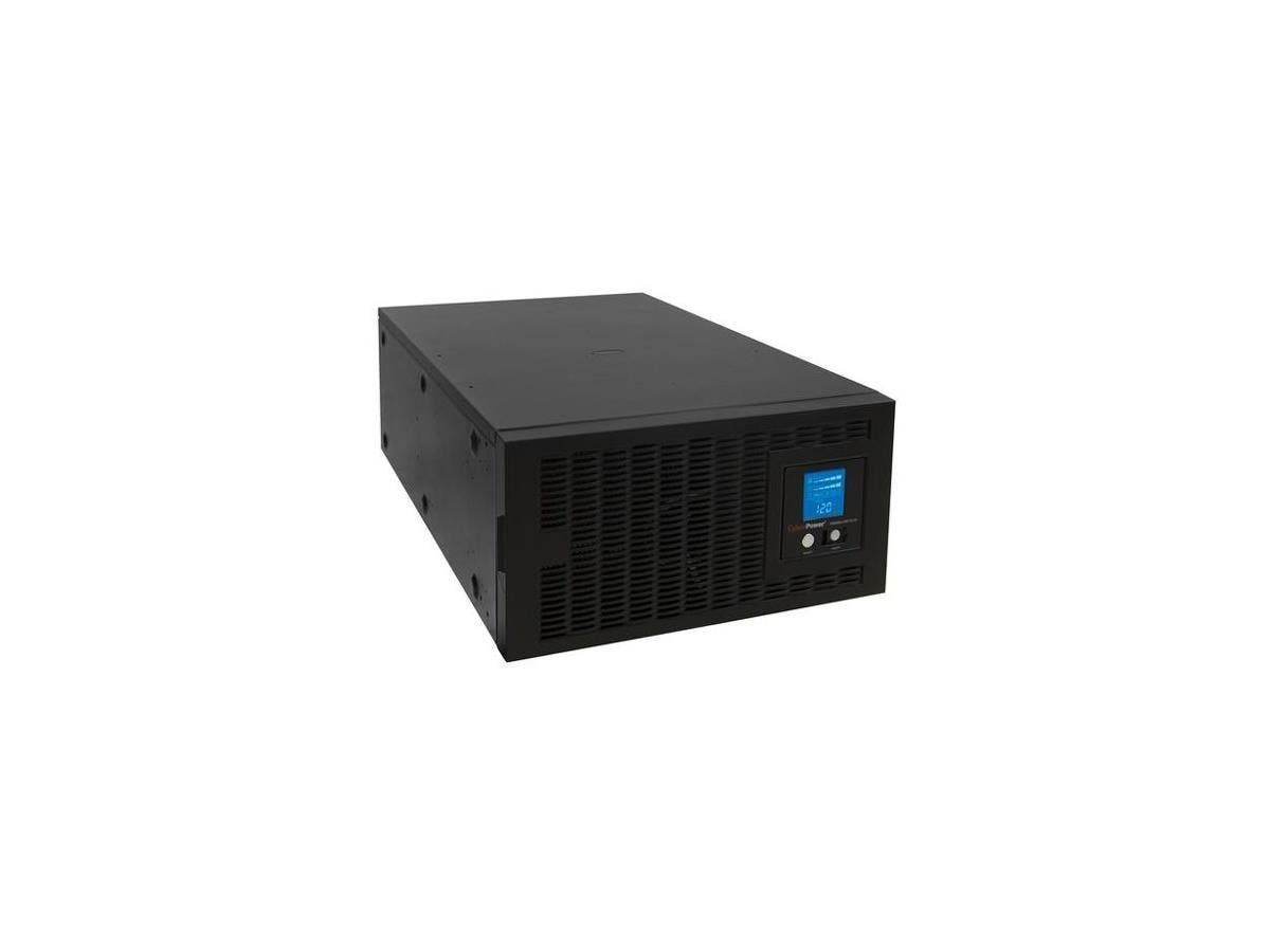 CyberPower Smart App Sinewave PR5000LCDRTXL5U 5000 VA Rack-mountable UPS - 5000VA/4kW - 11 Minute Full Load - 3 x NEMA L6-30R - Battery/Surge-protected, 2 x NEMA L6-20R - Critical Load-Large-Image-1