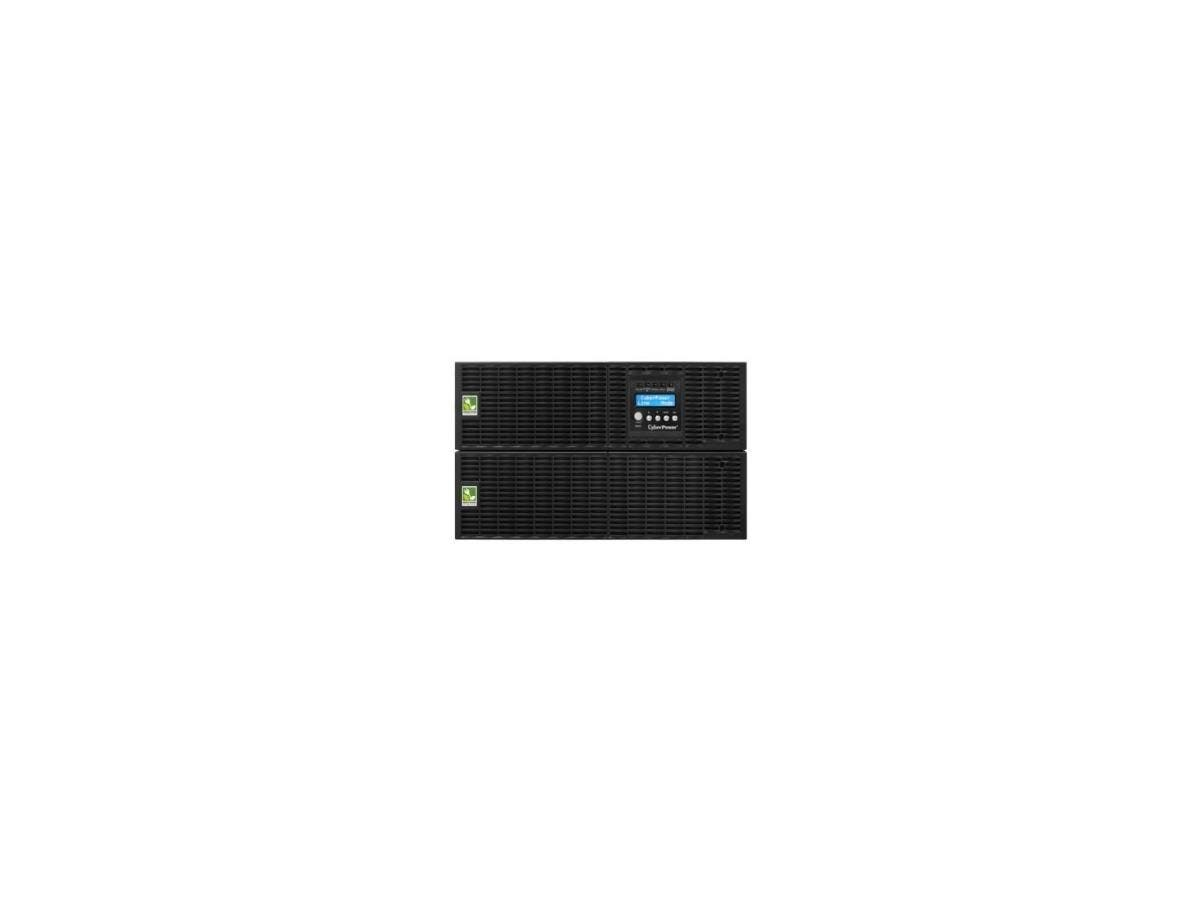 CyberPower Smart App Online OL8000RT3U 8000VA 200-240V Pure Sine Wave LCD Rack/Tower UPS - 5 Minute Full Load - 3 x NEMA L6-30R, 1 x Terminal Block-Large-Image-1