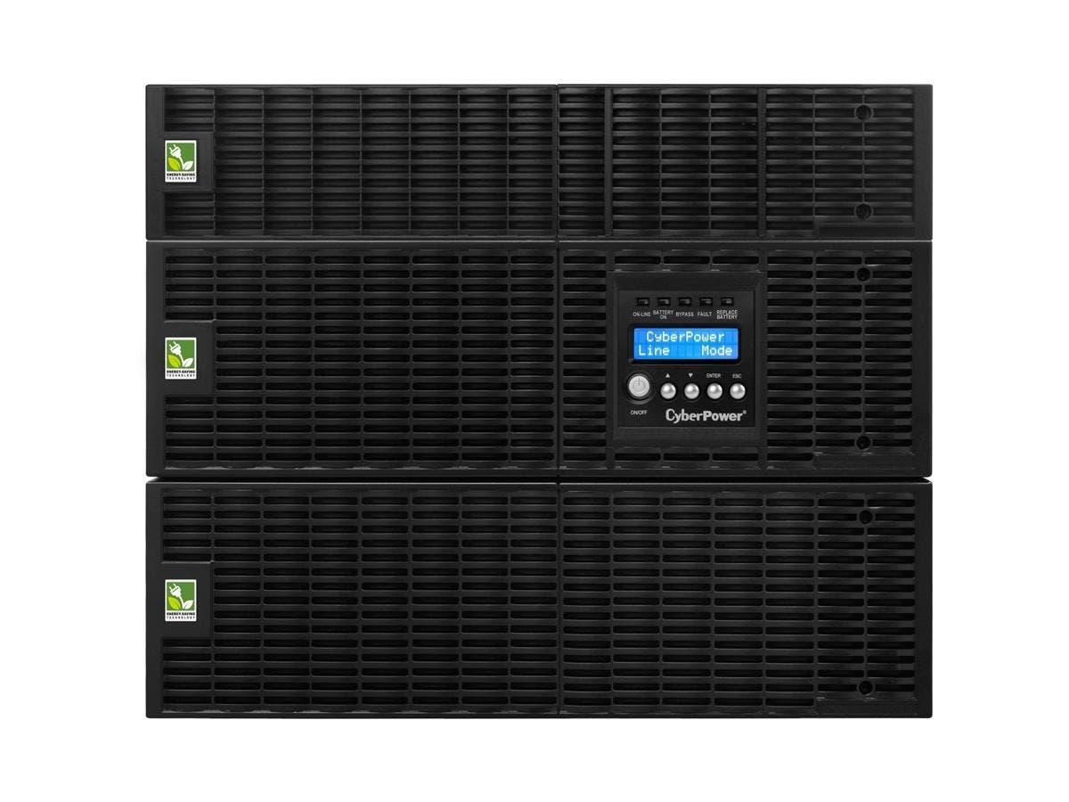 CyberPower Smart App Online OL6000RT3UTF 6000VA TF 120V, 200-240V Pure Sine Wave LCD UPS - 5.3 Minute Full Load - 6kVA - SNMP/HTTP Remote Monitoring