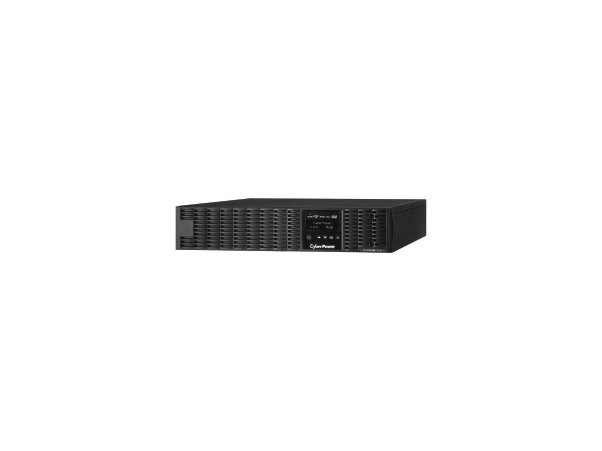 CyberPower Smart App Online OL3000RTXL2U 3000VA 100-125V Pure Sine Wave LCD Rack/Tower UPS - 3kVA 3 Minute Full Load - 6 x NEMA 5-20R, 1 x NEMA L5-20R-Large-Image-1