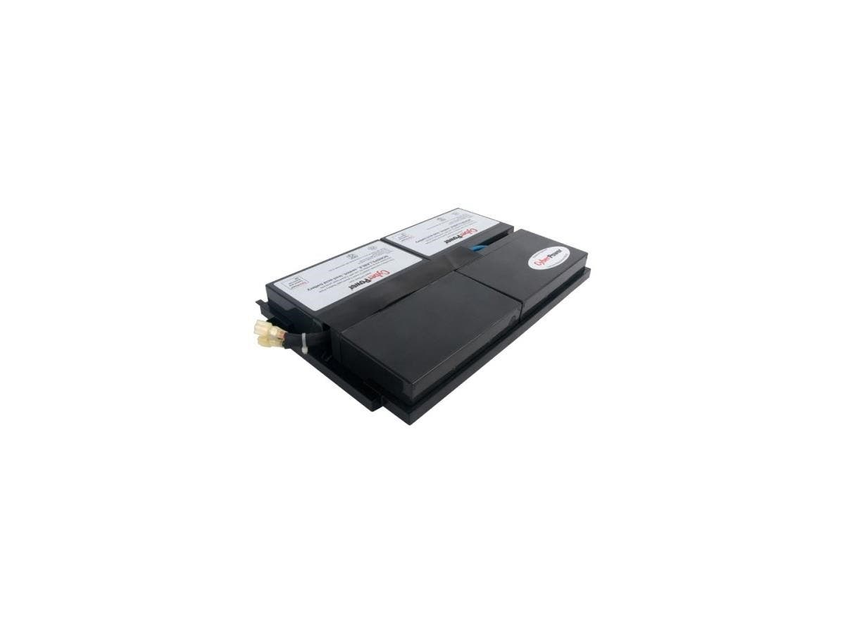 CyberPower RB0670X4 UPS Replacement Battery Cartridge - 7Ah - 6V DC - Maintenance-free Sealed Lead Acid-Large-Image-1