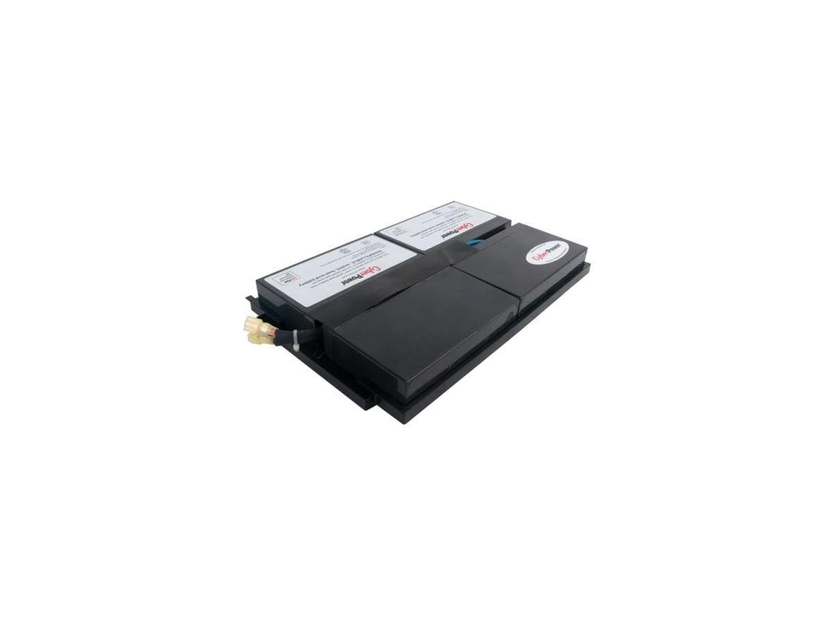 CyberPower RB0690X4 UPS Replacement Battery Cartridge - 9Ah - 6V DC - Maintenance-free Sealed Lead Acid