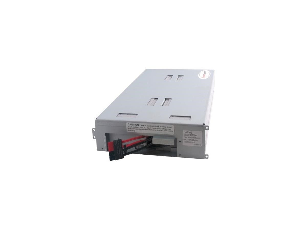 CyberPower RB1290X4B UPS Replacement Battery Cartridge - 9Ah - 12V DC - Maintenance-free Sealed Lead Acid-Large-Image-1