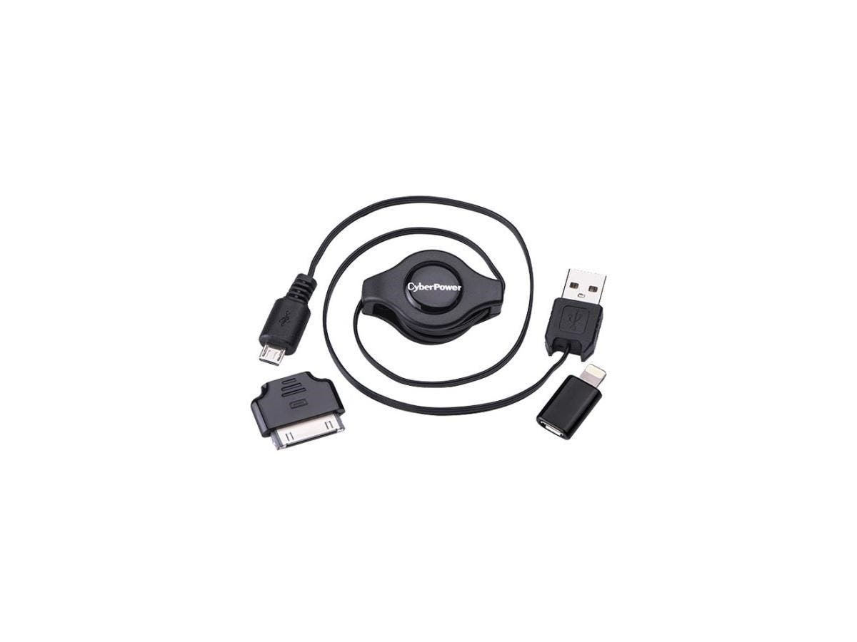 CyberPower iDevice USB Cable Kit for Apple Devices