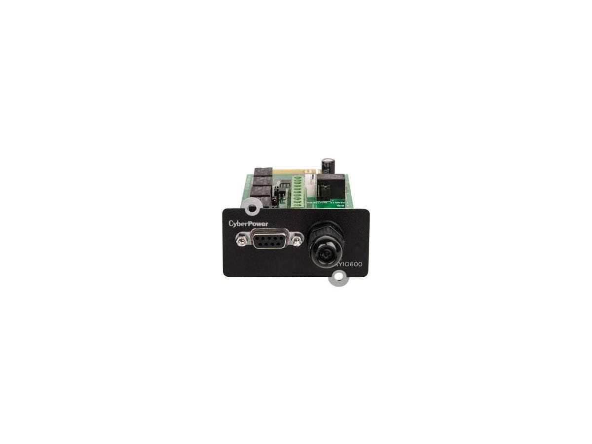 CyberPower RELAYIO600 OL Series Management Card, 5-Output 1-Input Contact Closures - Mini Slot-Large-Image-1
