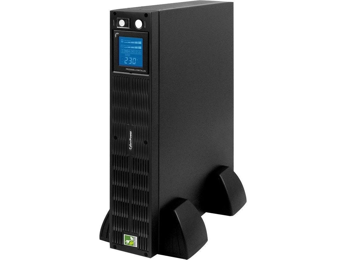 CyberPower 2200 VA Line Interactive UPS - 2200 VA/1650 W - 220 V AC, 230 V AC, 240 V AC - 5 Minute - 2U Tower/Rack Mountable - 5 Minute - 1 x IEC 60320 C19, 9 x IEC 60320 C13-Large-Image-1
