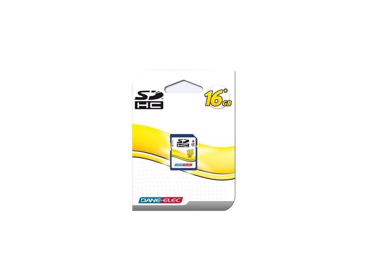 Dane-Elec 16GB Secure Digital (SD) Card - 16 GB
