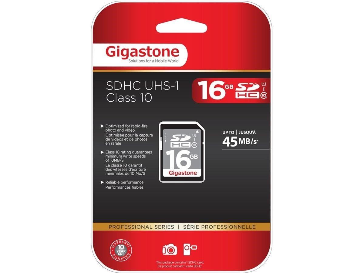 Gigastone 16 GB SDHC - Class 10/UHS-I-Large-Image-1