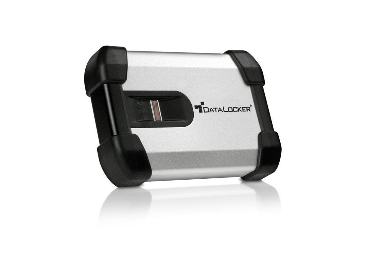 DataLocker H200 BIO 500 GB Encrypted External Hard Drive - USB 2.0-Large-Image-1
