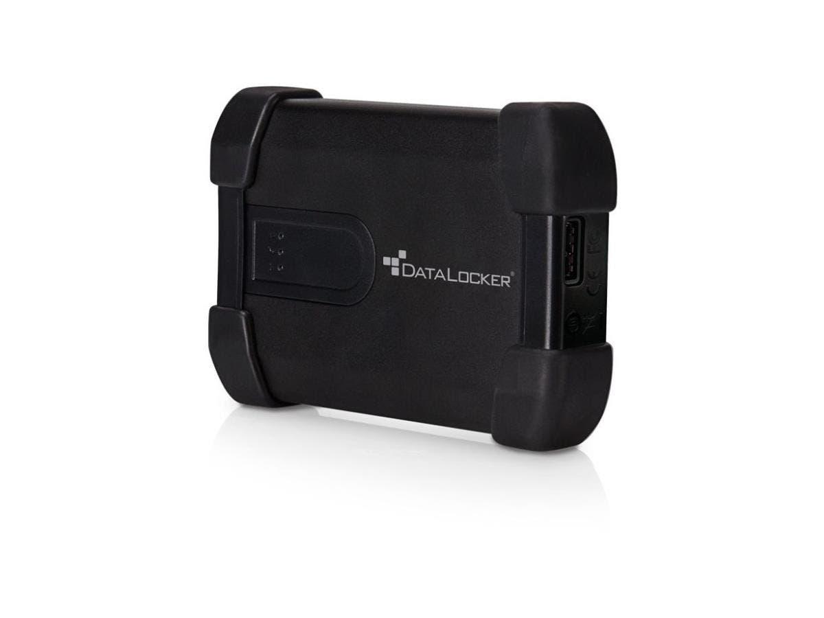 "DataLocker H300 Basic 2 TB 2.5"" External Hard Drive - USB 3.0 - 256-bit Encryption Standard-Large-Image-1"