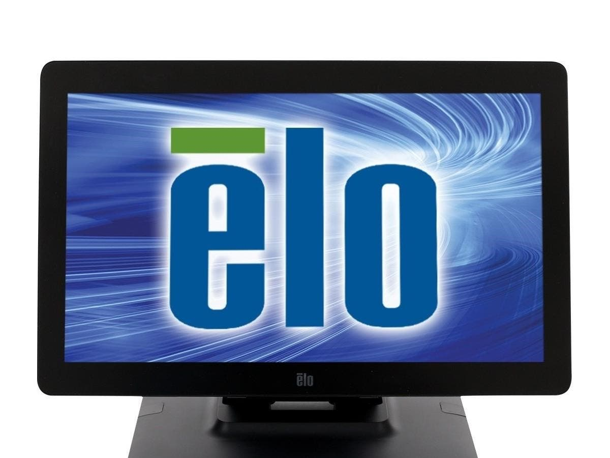 "Elo 2201L 22-inch Desktop Touchmonitor - 22"" LCD - 1920 x 1080 - LED - 250 Nit - 1080p - USB - DVI - Black-Large-Image-1"