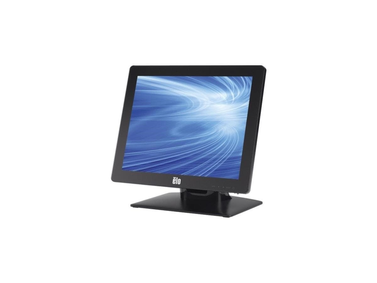 "Elo 1717L 17"" LED LCD Touchscreen Monitor - 5:4 - 5 ms - Surface Acoustic Wave - 1280 x 1024 - SXGA - 16.7 Million Colors - 800:1 - 250 Nit - USB - VGA - Black - RoHS, China RoHS, WEEE - 3 Year-Large-Image-1"
