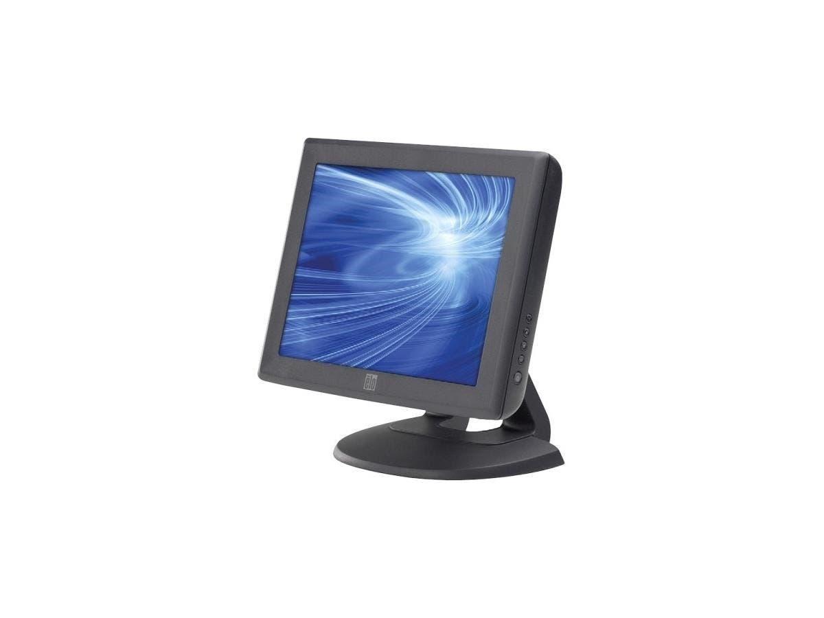 "Elo 1000 Series 1215L Touch Screen Monitor - 12"" - 5-wire Resistive - Dark Gray"