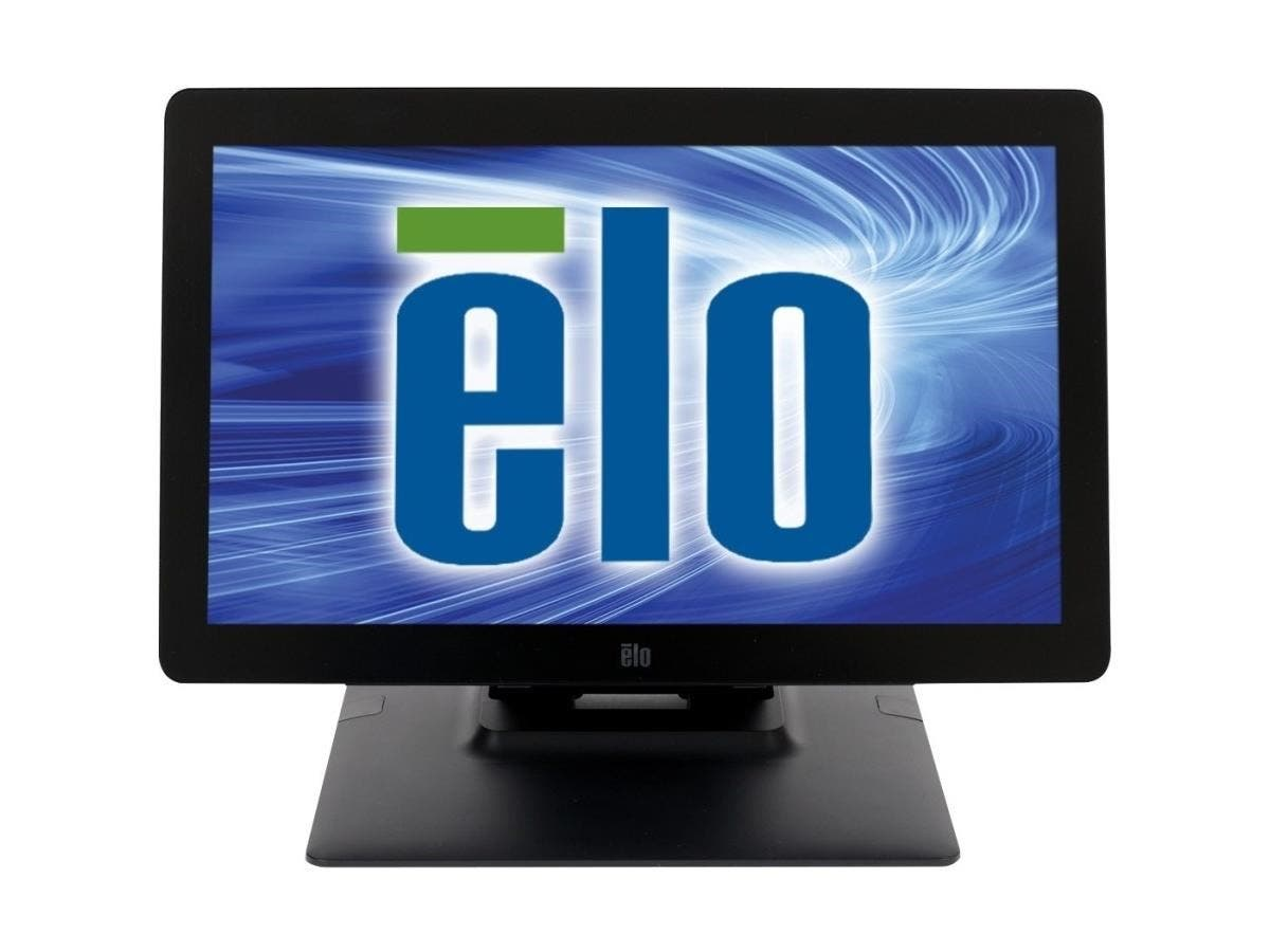 "Elo 1502L 15.6"" LED LCD Touchscreen Monitor - 16:9 - 35 ms - IntelliTouch Pro Projected Capacitive - Multi-touch Screen - 1920 x 1080 - Full HD - 262,000 Colors - 700:1 - 300 Nit - Speakers-Large-Image-1"
