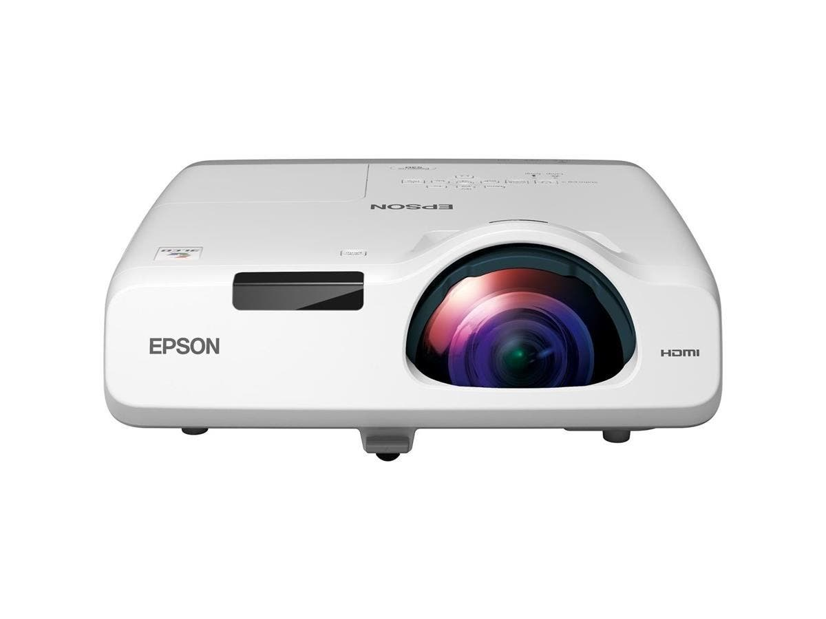 Epson PowerLite 530 LCD Projector - HDTV - 4:3 - Front, Rear, Ceiling - Interactive - UHE - 215 W - 5000 Hour Normal Mode - 10000 Hour Economy Mode - 1024 x 768 - XGA - 16,000:1 - 3200 lm - HDMI-Large-Image-1