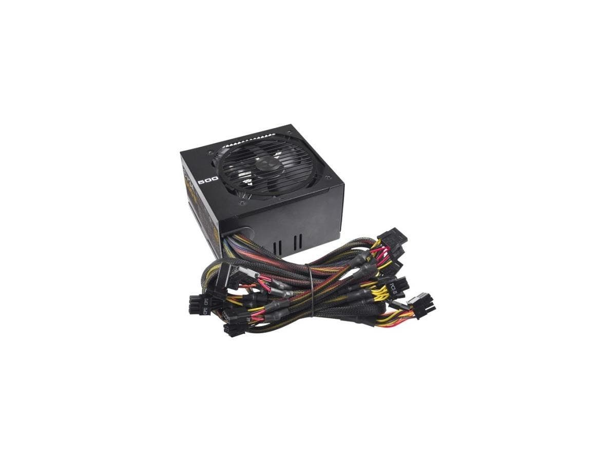 EVGA 500B Bronze Power Supply - ATX12V/EPS12V - Internal - 85% Efficiency - 500 W-Large-Image-1