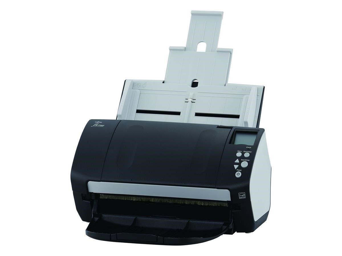 Fujitsu Fi-7160 Sheetfed Scanner - 600 dpi Optical - 24-bit Color - 8-bit Grayscale - 60 - 60 - USB-Large-Image-1