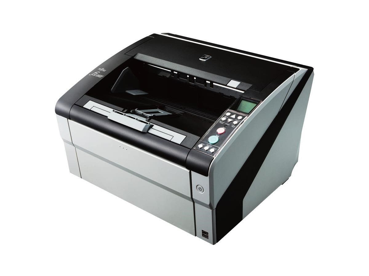 Fujitsu fi-6400 Sheetfed Scanner - 600 dpi Optical - 24-bit Color - 8-bit Grayscale - 100 - 100 - Duplex Scanning - USB