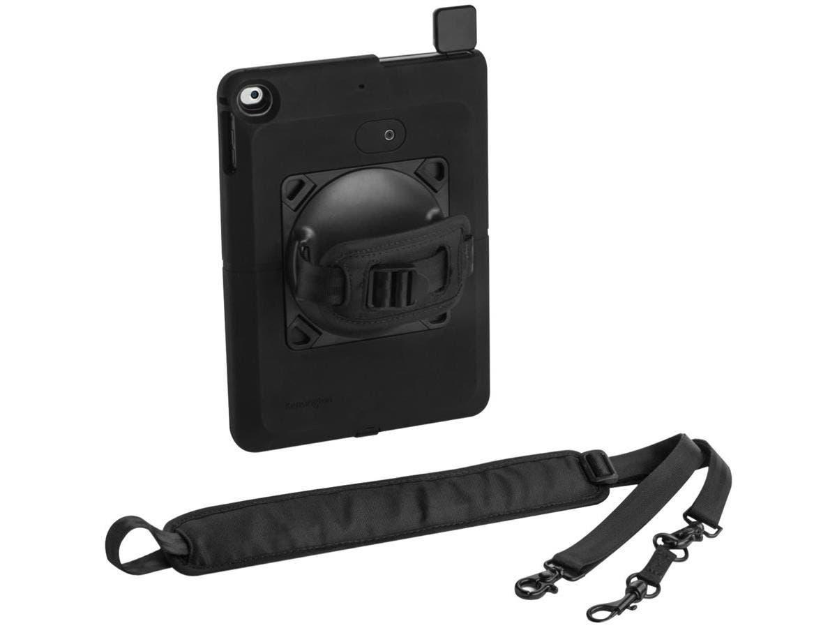 Kensington SecureBack K97907WW Carrying Case for iPad Air, iPad Air 2 - Black - Drop Resistant, Scratch Resistant, Bump Resistant, Slip Resistant, Damage Resistant, Dust Resistant - Rubber - Rubberize-Large-Image-1