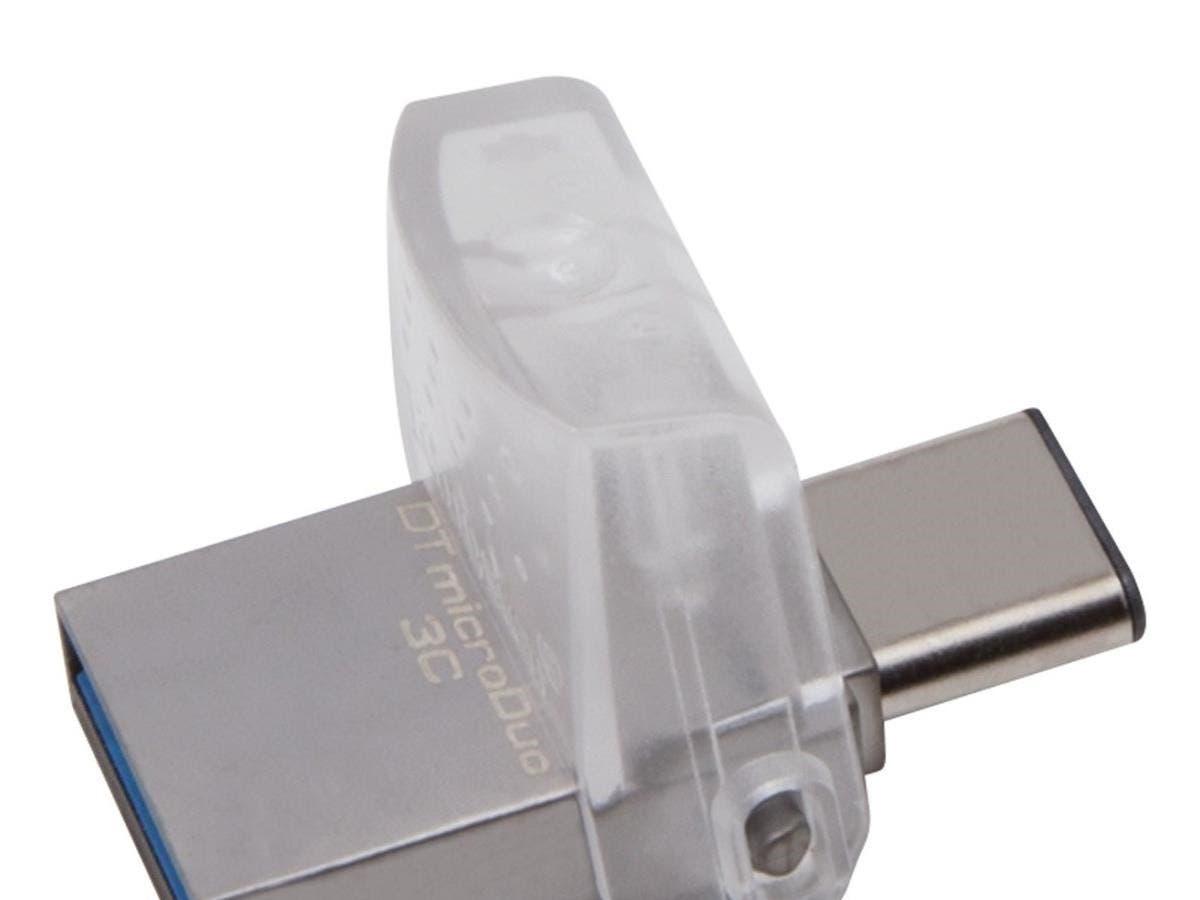 Kingston DataTraveler microDuo 3C - 32 GB - USB 3.1-Large-Image-1