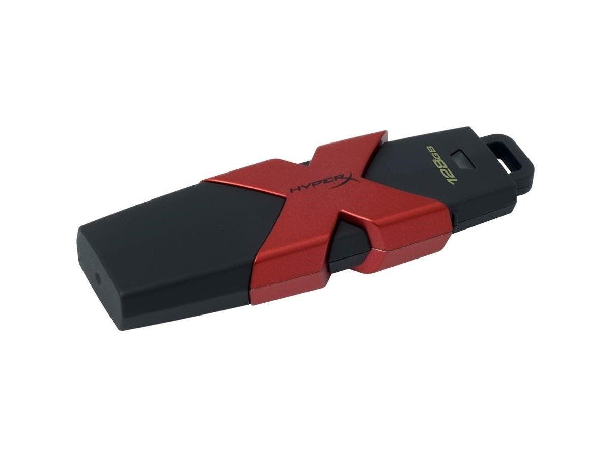 Kingston 128GB HX Savage USB 3.1/3.0 350MB/s R, 250MB/s W - 128 GB - USB 3.1-Large-Image-1