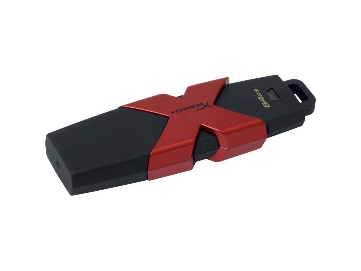 Kingston 64GB HX Savage USB 3.1/3.0 350MB/s R, 180MB/s W - 64 GB - USB 3.1-Large-Image-1
