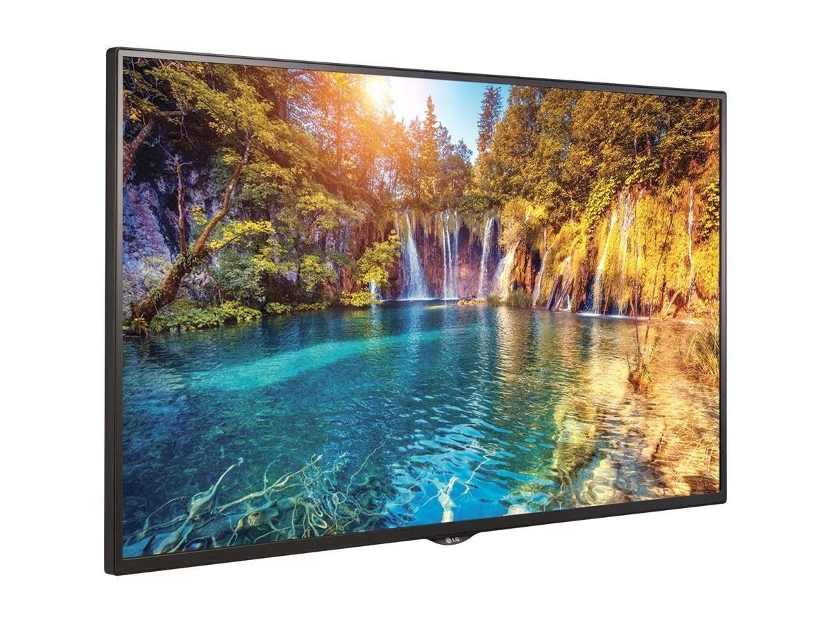 "LG 55SE3KB-B Digital Signage Display - 55"" LCD - 1920 x 1080 - Direct LED - 350 Nit - 1080p - HDMI - USB - SerialEthernet"