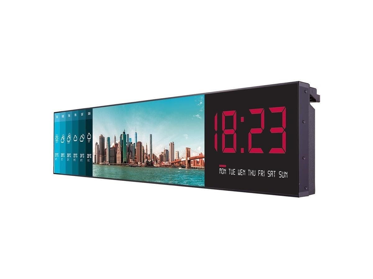 "LG 86BH5C-B Digital Signage Display - 86"" LCD - 3840 x 600 - LED - 500 Nit - HDMI - USB - DVI - SerialEthernet - Black"