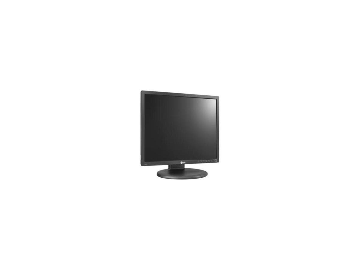 """LG Business 19MB35PM-I 18.9"""" LED LCD Monitor - 5:4 - 5 ms - 1280 x 1024 - 16.7 Million Colors - 250 Nit - 5,000,000:1 - SXGA - Speakers - DVI - VGA - Black, Dark Anthracite"""