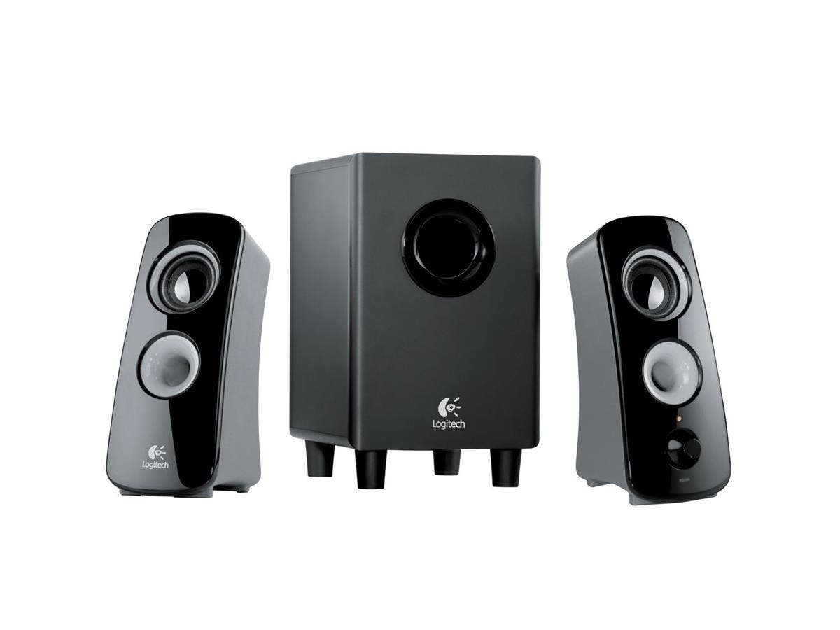 Logitech Z323 2.1 Speaker System - 30 W RMS - 55 Hz - 20 kHz-Large-Image-1
