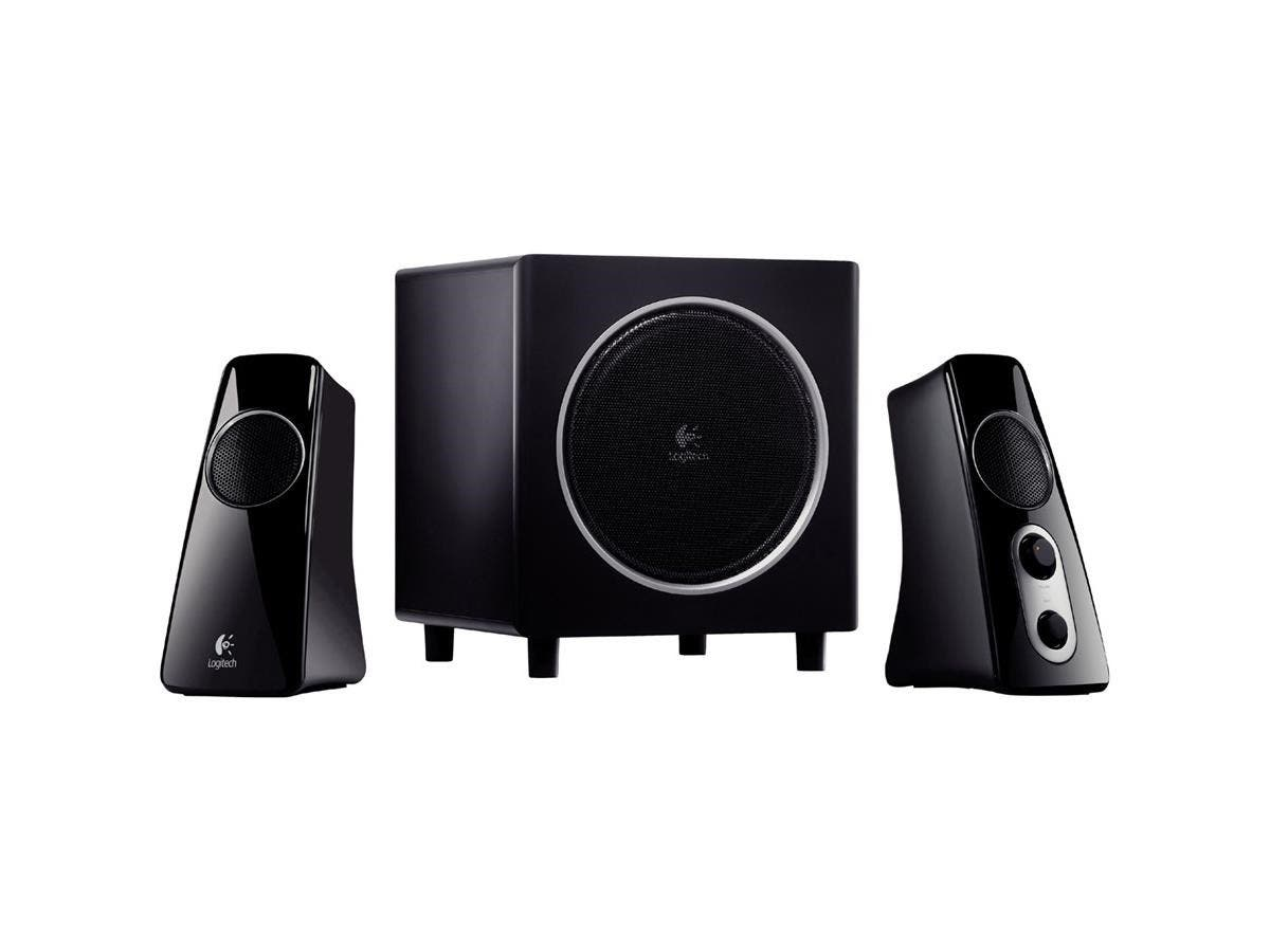 Logitech Z523 2.1 Speaker System - 40 W RMS - 35 Hz - 20 kHz - iPod Supported