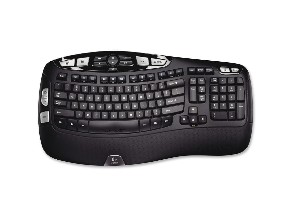 Logitech Wireless Keyboard K350 - USB-Large-Image-1