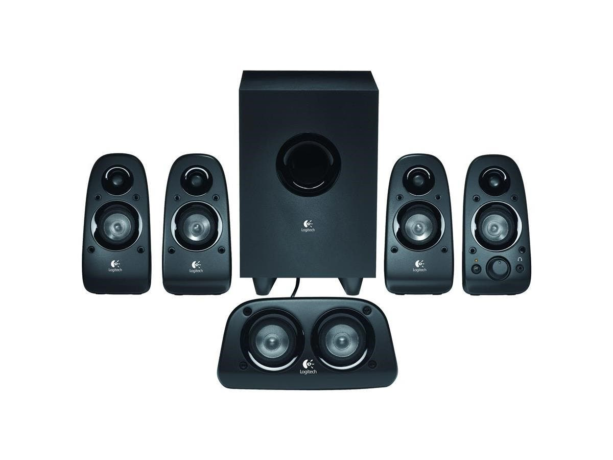 Logitech Z506 5.1 Speaker System - 75 W RMS - 45 Hz - 20 kHz - iPod Supported