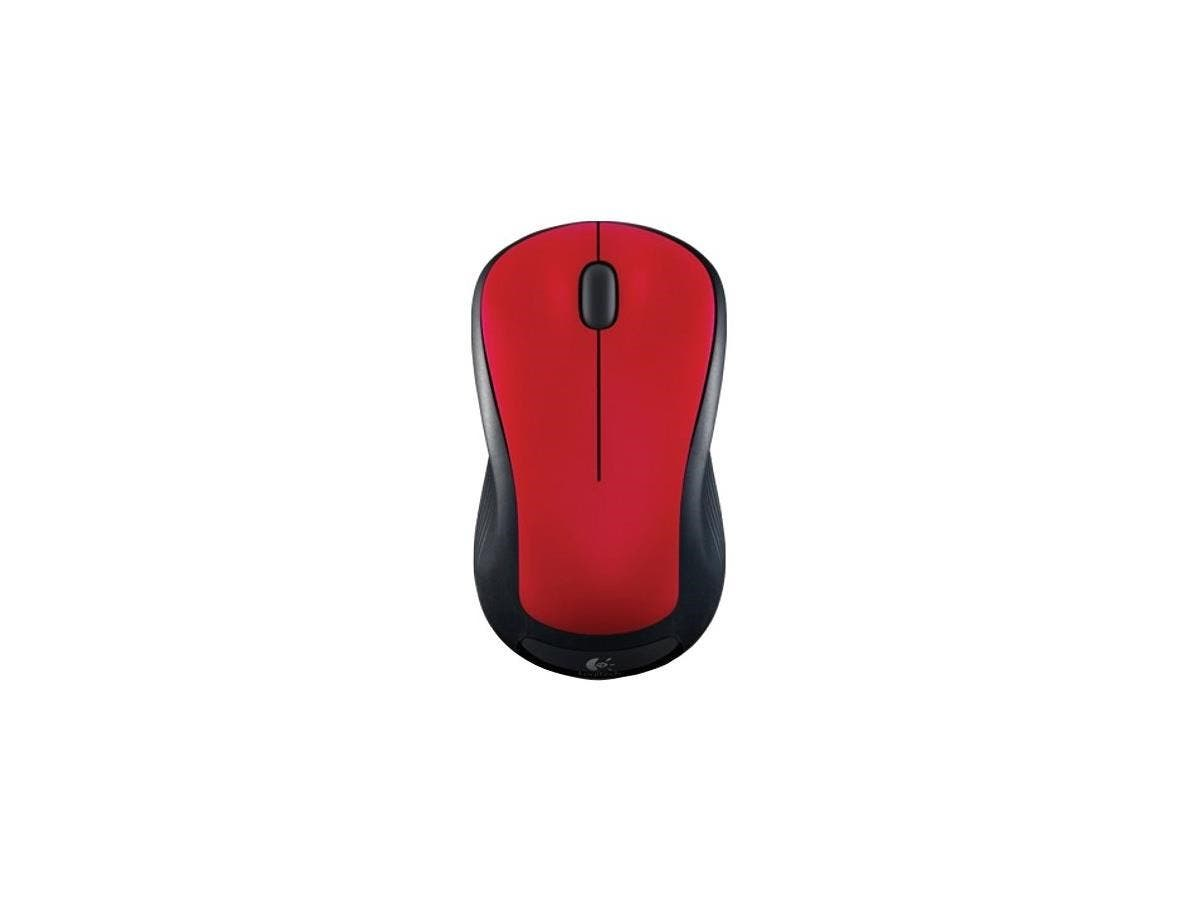Logitech M310 Mouse - Laser - Wireless - Radio Frequency - Flame Red - USB - 1000 dpi - Computer - Scroll Wheel - 3 Button(s) - Symmetrical