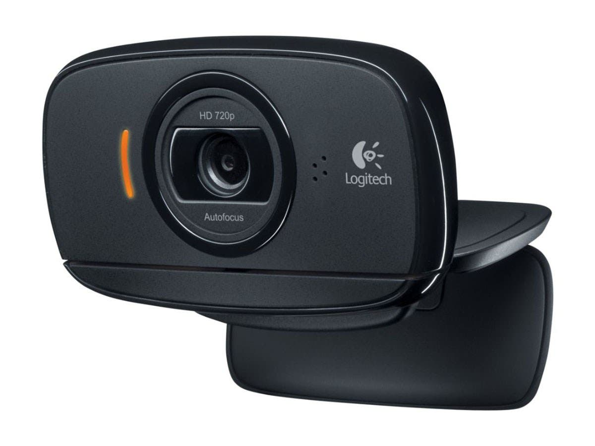 Logitech B525 Webcam - 2 Megapixel - 30 fps - USB 2.0 - 1280 x 720 Video - Auto-focus - Microphone-Large-Image-1