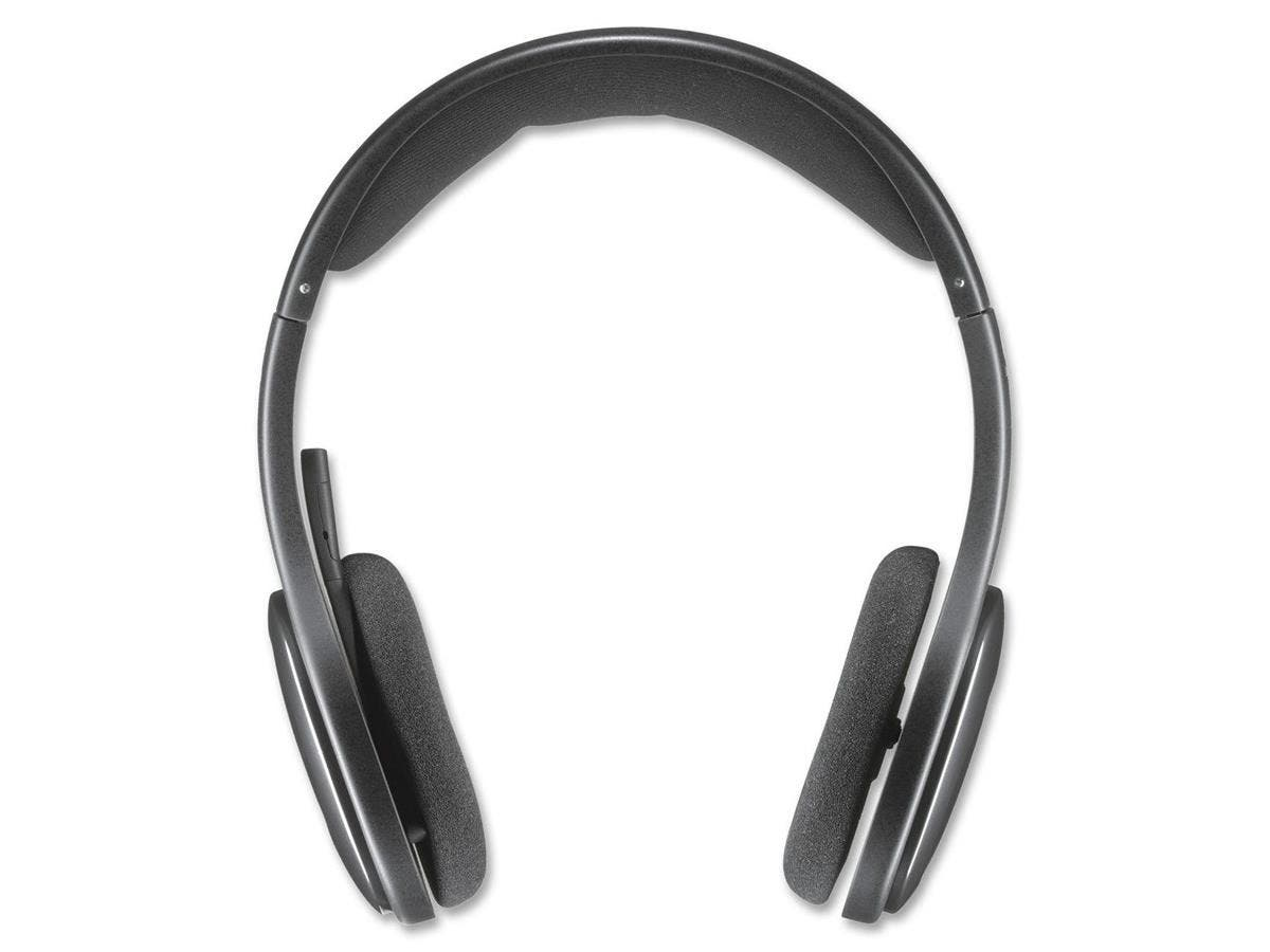 Logitech H800 Headset - Stereo - Black - Wireless - Bluetooth - 39.4 ft - Over-the-head - Binaural - Ear-cup - Noise Cancelling Microphone-Large-Image-1