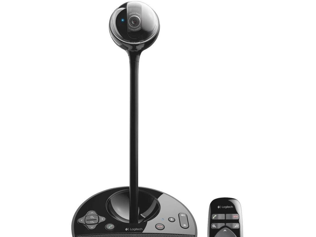 Logitech BCC950 Video Conferencing Camera - 3 Megapixel - 30 fps - Black - USB 2.0 - 1 Pack(s) - 1920 x 1080 Video - Auto-focus - Widescreen - Microphone