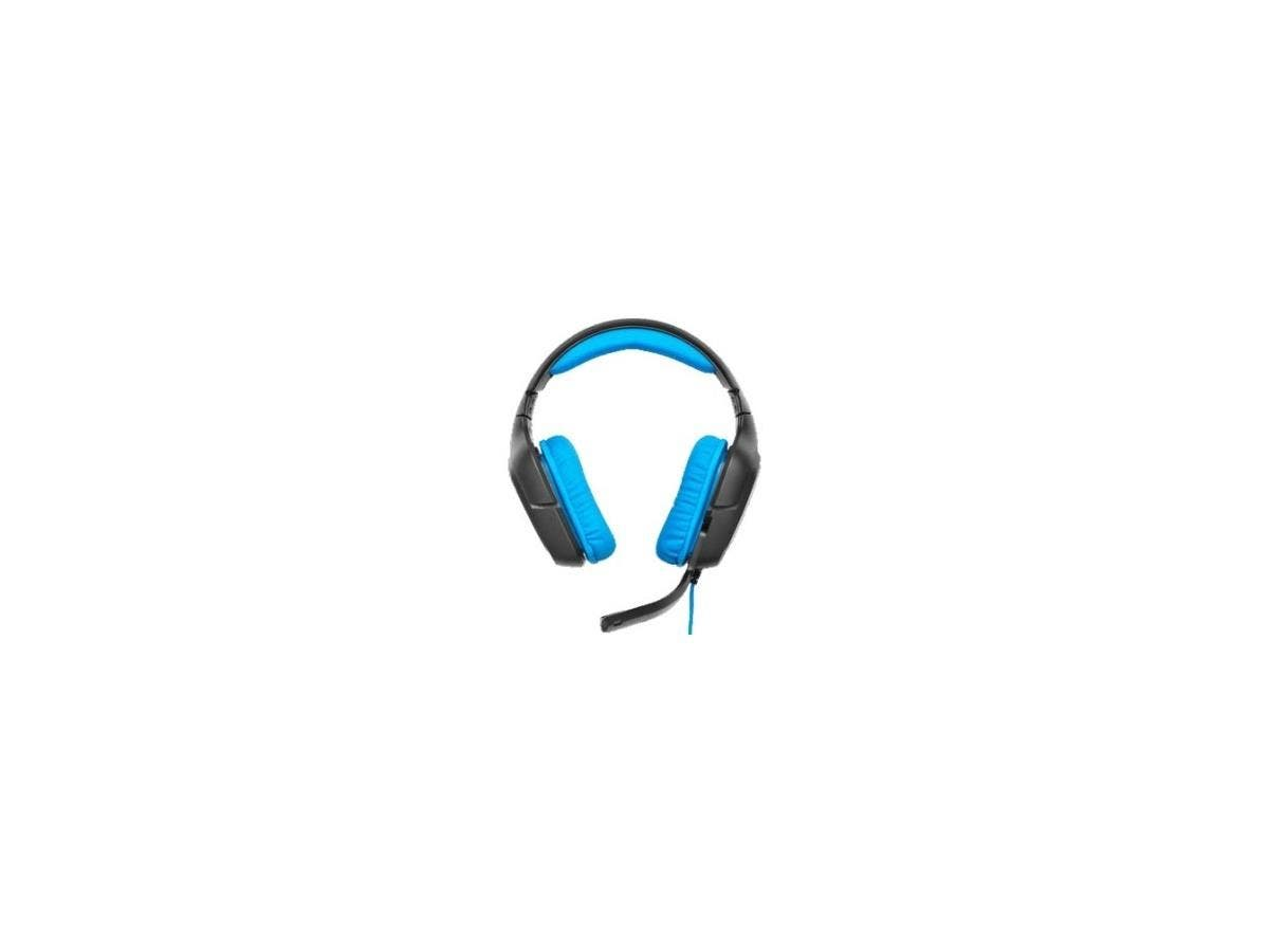 Logitech G430 Surround Sound Gaming Headset - USB - Wired - 32 Ohm - 20 Hz - 20 kHz - Over-the-head - Binaural - Circumaural - Noise Cancelling Microphone-Large-Image-1