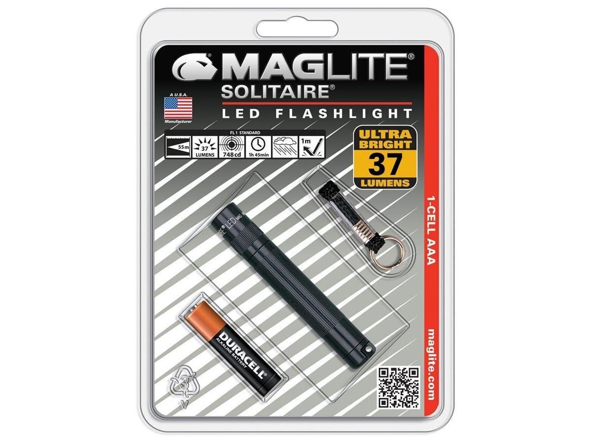 Mag-Lite Solitaie LED Flashlight - AAA - Black-Large-Image-1