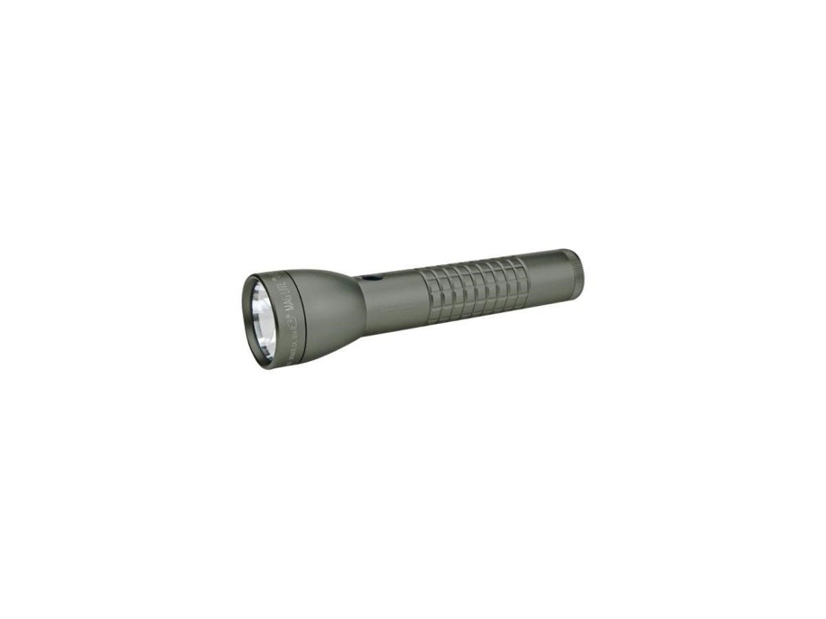 Mag-Lite ML300LX 2-Cell D LED Flashlight - D - Foliage Green-Large-Image-1